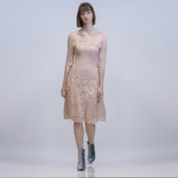 Vêtements Femme Robes courtes Yours-Paris JULIE VIEUX ROSE