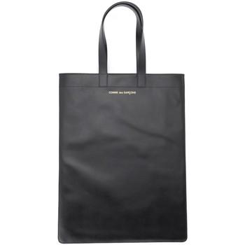 Sacs Femme Cabas / Sacs shopping Comme Des Garcons Sac de shopping Comme Des Garçons en cuir noir Noir
