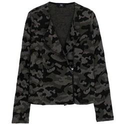 Vêtements Femme Vestes / Blazers Le Temps des Cerises Veste Femme Camoperf Khaki