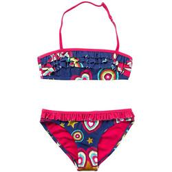 Vêtements Fille Maillots / Shorts de bain Desigual Maillot de bain 2 pièces Bleu 74M35E1 Bleu