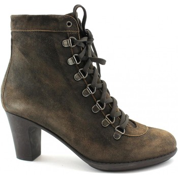 Chaussures Femme Bottines Lion LIO-OUT-10302 Marrone