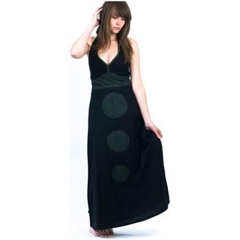 Vêtements Femme Robes Fantazia Robe teuffeuse motifs tribal Noir