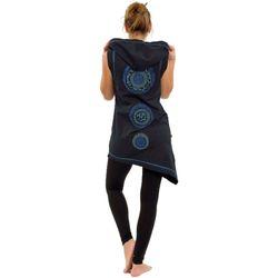 Vêtements Femme Tuniques Fantazia Tunique asymetrique Thapa avec capuche Noir