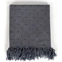 Accessoires textile Echarpes / Etoles / Foulards Fantazia Cheche foulard coton ethnic eventail gris et noir Gris