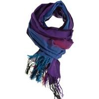 Accessoires textile Echarpes / Etoles / Foulards Fantazia Cheche foulard coton basic ethnic violet bleu fuchsia chine Violet