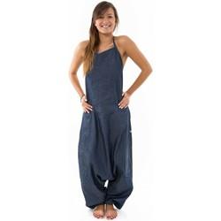 Vêtements Femme Combinaisons / Salopettes Fantazia Combinaison sarwel femme blue jean brut urban street Bleu