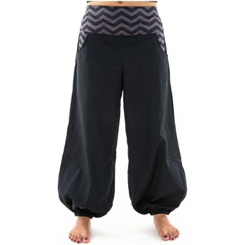 Vêtements Femme Calvin Klein Jeans Fantazia Pantalon ballon bouffant femme coton epais Lalleh Noir
