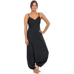 Vêtements Combinaisons / Salopettes Fantazia Combinaison sarouel basique ethnique femme hiver noir Noir