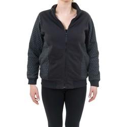 Vêtements Homme Sweats Fantazia Blouson basique ethnique zip imprime geometric star noir gris Noir