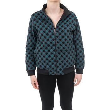 Vêtements Sweats Fantazia Blouson sweat avec zip reversible total print ou noir uni Zack Noir