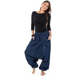 Vêtements Jeans Fantazia Pantalon sarouel jean denim street baba cool mixte Liam Bleu