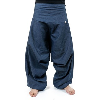 Vêtements Homme Jeans Fantazia Saroual blue jean brut new bali aladdin homme femme Bleu