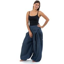 Vêtements Jeans Fantazia Pantalon sarouel urban ethnic jean femme Jazminh Bleu