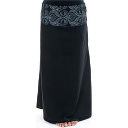 Vêtements Femme Jupes Fantazia Jupe longue imprime ethnique chic Cali Noir