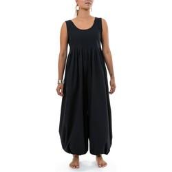 Vêtements Femme Grace & Mila Fantazia Combi pantalon sarouel noire classic chic Sastriya Noir