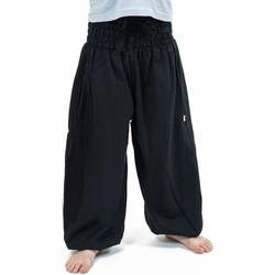 Vêtements Fille Pantalons fluides / Sarouels Fantazia Pantalon sarouel enfant noir Kidika Noir