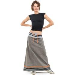 Vêtements Femme Jupes Fantazia Jupe longue ethnic summer Inkah Gris