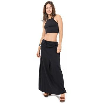 Vêtements Femme Jupes Fantazia Jupe longue classic chic Ditah Noir
