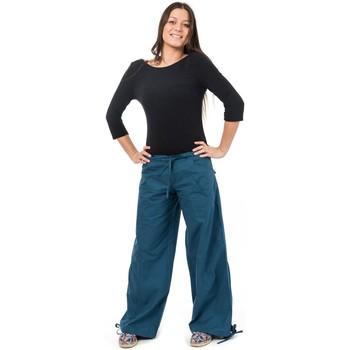Vêtements Chinos / Carrots Fantazia Pantalon hybride yoga zen Gemma Bleu petrole