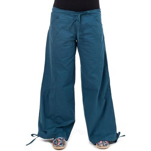 Grande vente Pantalon hybride yoga zen Gemma  Fantazia  chinos / carrots    bleu petrole