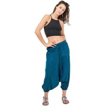 Vêtements Femme Pantacourts Fantazia Pantacourt sarwel mixte zen Samudra Bleu