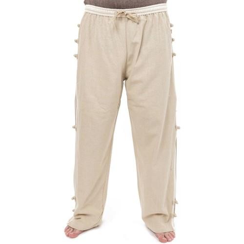 Vêtements Homme Pantalons Fantazia Pantalon relax homewear yoga Bhanga Blanc / écru