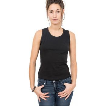 Vêtements Femme Débardeurs / T-shirts sans manche Fantazia Top debardeur american boho chic Noir