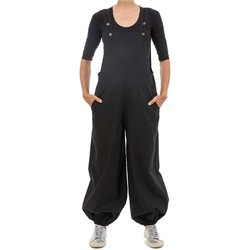 Vêtements Combinaisons / Salopettes Fantazia Salopette femme basic decontracte Tanavah Noir
