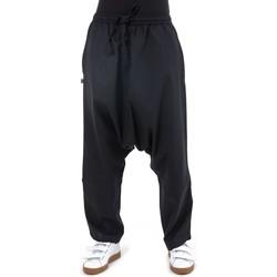 Vêtements Homme Pantalons fluides / Sarouels Fantazia Sarouel droit basique original Pramukha Noir