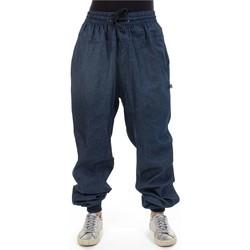 Vêtements Pantalons fluides / Sarouels Fantazia Pantalon jean Femme Zen beaucoup Bleu