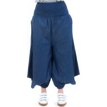 Vêtements Femme Jeans Fantazia Sarouel jupe culotte blue jean denim Bleu
