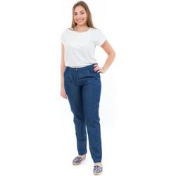 Vêtements Femme Jeans Fantazia Pantalon jean coupe carotte femme Bleu