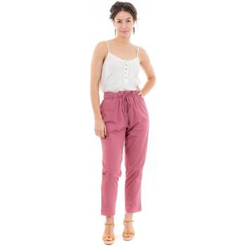 Vêtements Femme Pantalons Fantazia Pantalon femme sans fermeture Ilda Rose