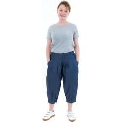 Vêtements Femme Jeans Fantazia Pantacourt bouffant femme jean denim Bleu