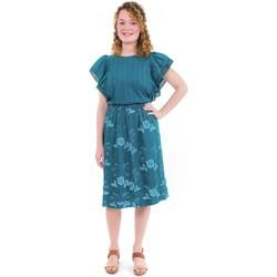 Vêtements Femme Jupes Fantazia Jupe midi ethnique romantique Khatryne Bleu