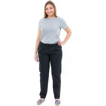 Vêtements Femme Pantalons Fantazia Pantalon coupe carotte basique noir Noir