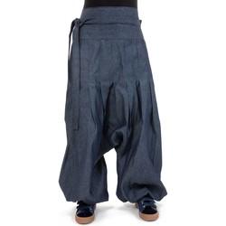 Vêtements Jeans Fantazia Sarouel ample jean zen Eladj Bleu