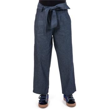 Vêtements Femme Jeans Fantazia Pantalon jean droit large street chic Bleu