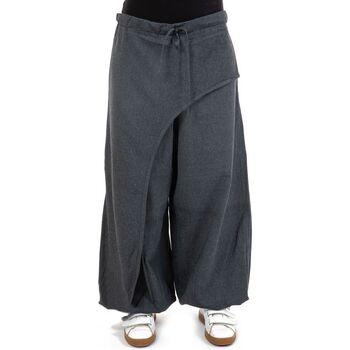 Vêtements Femme Pantalons fluides / Sarouels Fantazia Pantalon zen cache tresors Haka Bleu