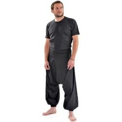 Vêtements Homme Pantalons fluides / Sarouels Fantazia Sarouel homme new bali Noir