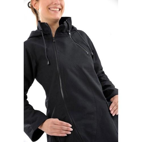 Veste Flox ethnique noire Fantazia manteaux  noir