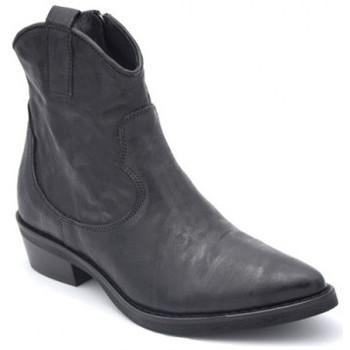 Chaussures Femme Bottines Semerdjian mu749 Noir