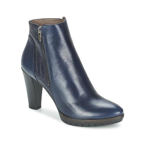 Bottines / Boots Wonders CUBA NOCHE Marine 350x350