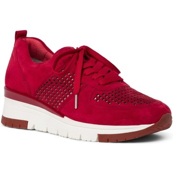 Chaussures Femme Baskets basses Tamaris 23745 rouge