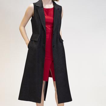 Vêtements Femme Vestes en jean Yours-Paris ANIE NOIR