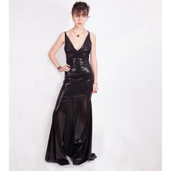 Vêtements Femme Robes longues Yours-Paris LUCIE NOIR