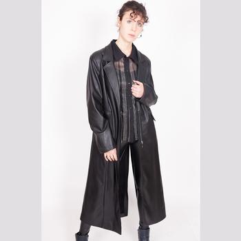 Vêtements Femme Vestes en cuir / synthétiques Yours-Paris AD?LE NOIR-FAUT-CUIR
