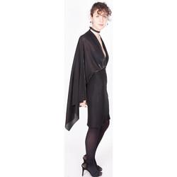 Vêtements Femme Robes courtes Yours-Paris ROMY NOIR-ARGENT