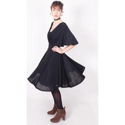 Vêtements Femme Robes courtes Yours-Paris L?ONIE NOIR-NOIR