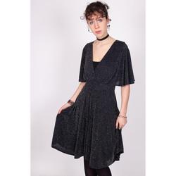 Vêtements Femme Robes courtes Yours-Paris L?ONIE NOIR-ARGENT
